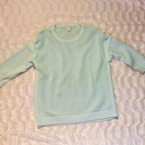 J.Crew openknit sweater
